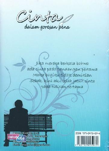 Cover Belakang Buku Cinta dalam Goresan Pena