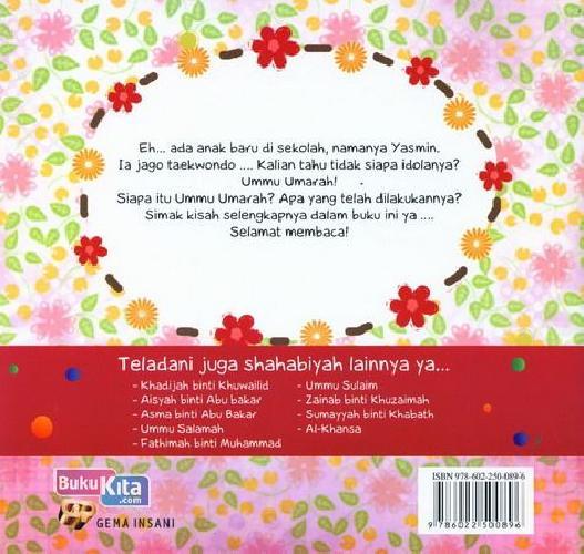 Cover Belakang Buku Seri Shahabiyah - Ummu Umarah - Mujahidah Pemberani