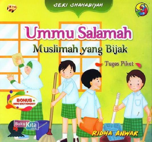 Cover Buku Seri Shahabiyah - Ummu Salamah - Muslimah yang Bijak