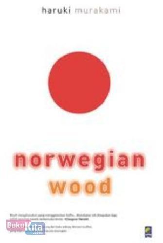 Cover Buku Norwegian Wood (Cover Baru)