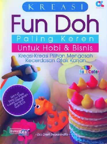 Cover Buku Kreasi Fun Doh Paling Keren Untuk Hobi dan Bisnis