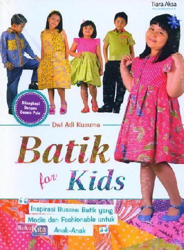 Cover Buku Batik for Kids
