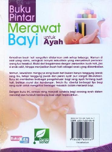 Cover Belakang Buku Buku Pintar Merawat Bayi Untuk Ayah