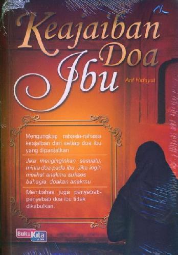 Cover Buku Keajaiban Doa Ibu