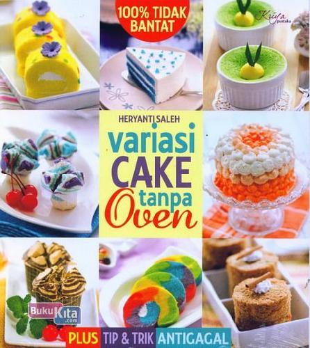 Cover Buku Variasi Cake Tanpa Oven