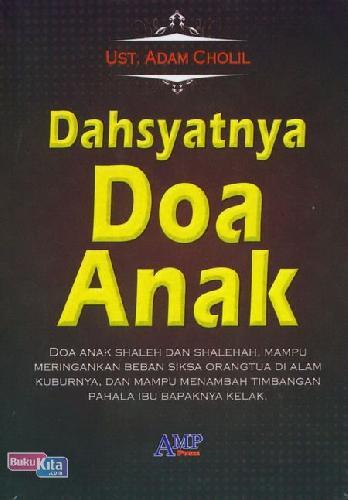 Cover Buku Dahsyatnya Doa Anak