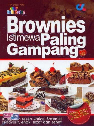 Cover Buku Brownies Istimewa Paling Gampang (full color)