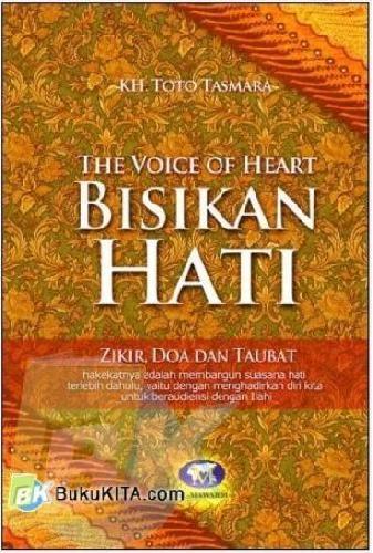 Cover Buku Bisikan Hati - The Voice of Heart