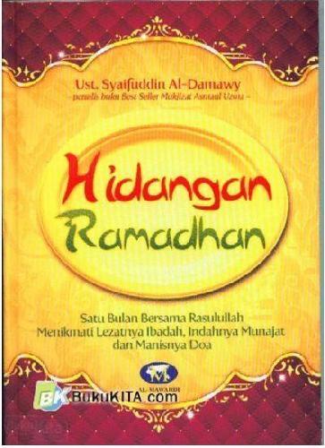 Cover Buku Hidangan Ramadhan