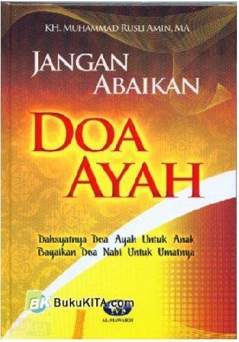 Cover Buku Jangan Abaikan Doa Ayah