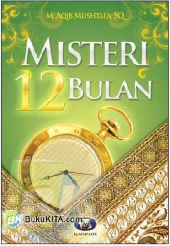 Cover Buku Misteri 12 Bulan