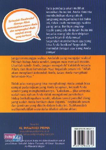 Cover Belakang Buku Amplop Rezeki