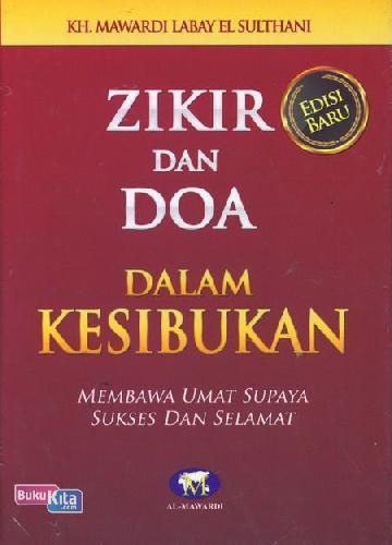 Cover Buku Zikir dan Doa dalam Kesibukan