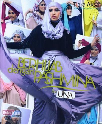 Cover Buku Berhijab dengan Pashmina