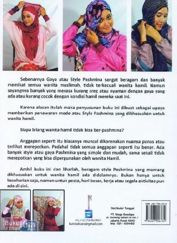 Cover Belakang Buku Gaya Terbaru Pashmina Khusus Untuk Ibu Hamil