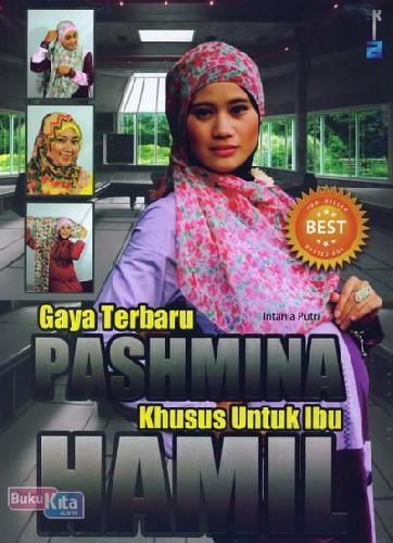 Cover Buku Gaya Terbaru Pashmina Khusus Untuk Ibu Hamil
