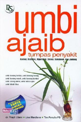 Cover Buku Umbi Ajaib Tumpas Penyakit