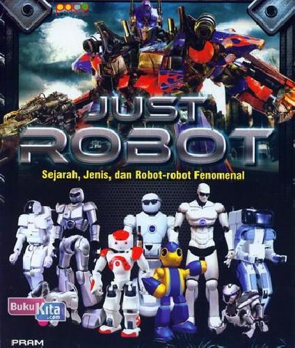 Cover Buku Just Robot