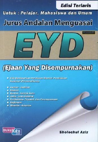 Cover Buku Jurus Andalan Menguasai EYD