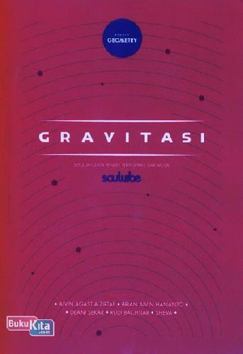 Cover Buku Gravitasi - cover berwarna merah