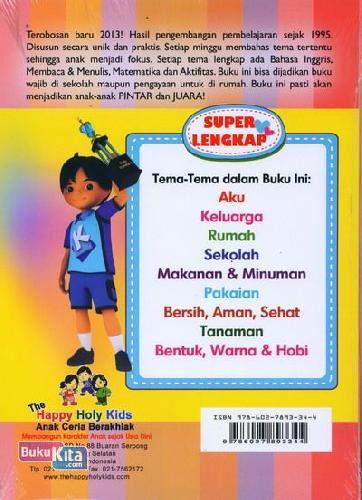 Cover Belakang Buku Buku Pintar 1 (5-7 tahun)