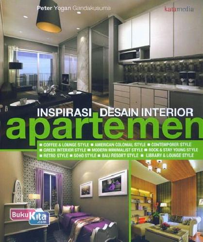 Cover Buku Inspirasi Desain Interior Apartemen