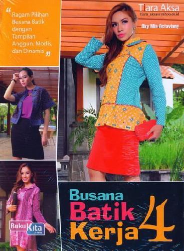 Cover Buku Busana Batik Kerja 4