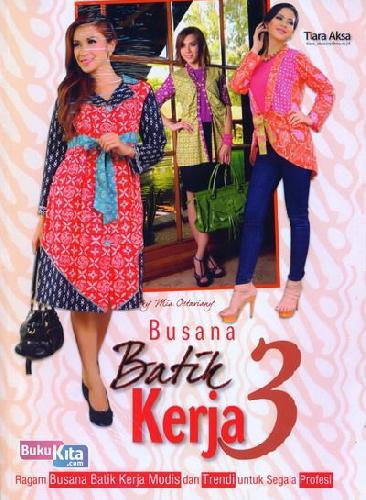 Cover Buku Busana Batik Kerja 3
