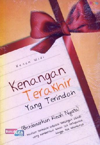 Cover Buku Kenangan Terakhir Yang Terindah
