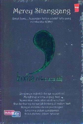 Cover Buku Koma (Cinta Tanpa Titik)