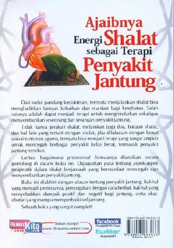 Cover Belakang Buku Ajaibnya Energi Shalat sebagai Terapi Penyakit Jantung
