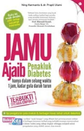 Cover Buku Jamu Ajaib Penakluk Diabetes