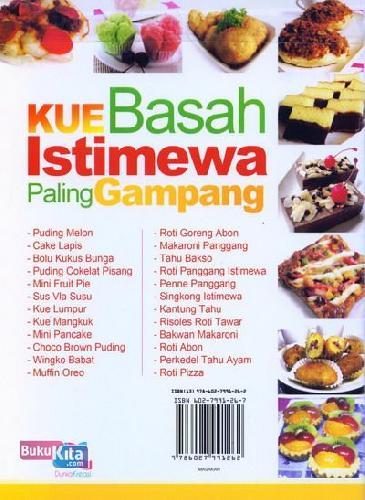 Cover Belakang Buku Kue Basah Istimewa Paling Gampang (full color)