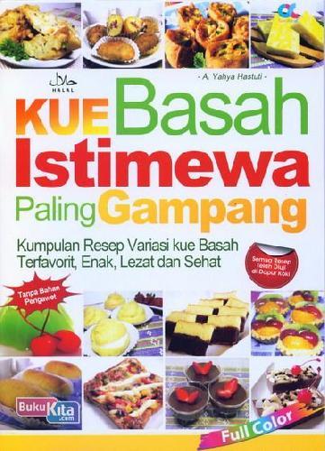 Cover Buku Kue Basah Istimewa Paling Gampang (full color)