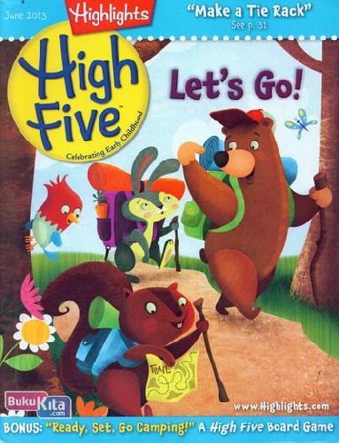 Cover Buku High Five June 2013 (full color)