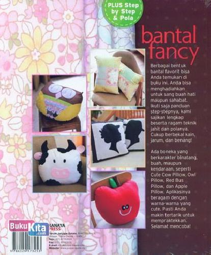 Cover Belakang Buku Bantal Fancy
