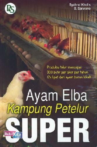 Cover Buku Ayam Elba Kampung Petelur Super