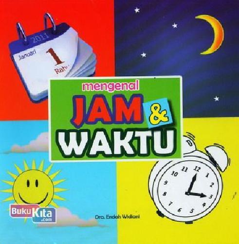 Cover Buku Mengenal Jam dan Waktu