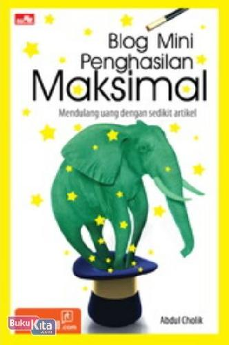 Cover Buku Blog Mini Penghasilan Maksimal