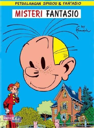 Cover Buku LC: Spirou - Misteri Fantasio