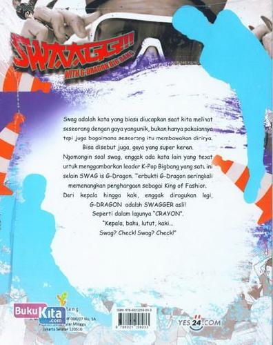 Cover Belakang Buku SWAGG With G-Dragon Big Bang