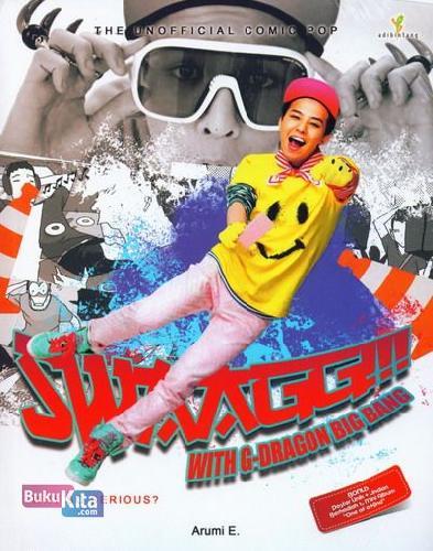 Cover Buku SWAGG With G-Dragon Big Bang