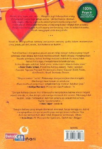 Cover Belakang Buku Aargh!!! Di Mana Jodohku