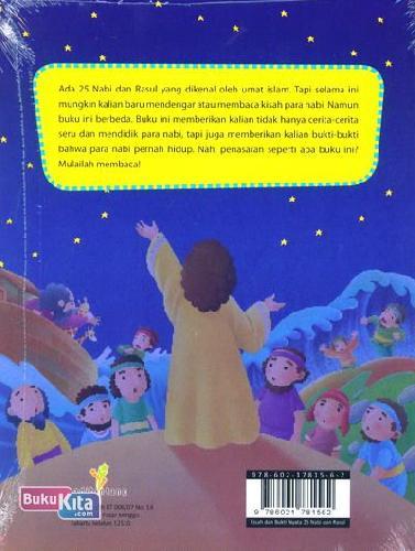Cover Belakang Buku Kisah dan Bukti Nyata 25 Nabi dan Rosul