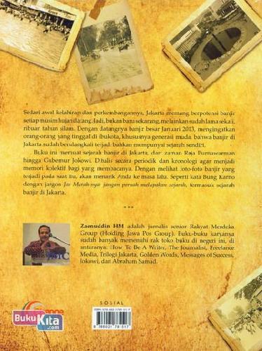 Cover Belakang Buku Banjir Jakarta