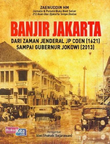 Cover Buku Banjir Jakarta