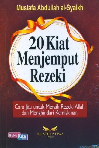 Cover Buku 20 Kiat Menjemput Rezeki