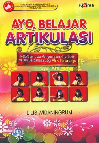 Cover Buku Ayo Belajar Artikulasi