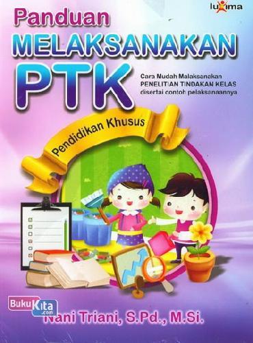 Cover Buku Panduan Melaksanakan PTK Pendidikan Khusus