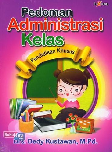 Cover Buku Pedoman Administrasi Kelas Pendidikan Khusus